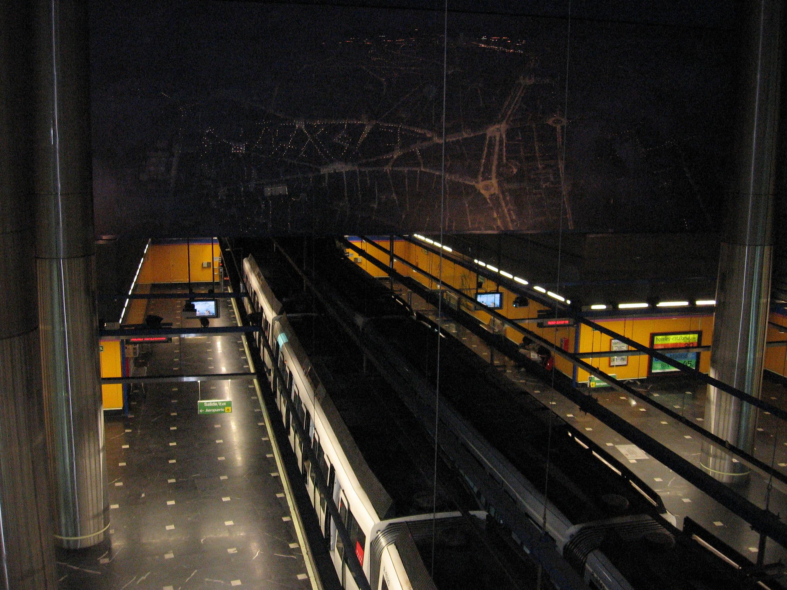 Aeropuerto T1 T2 T3 Madrid Metro Wikipedia
