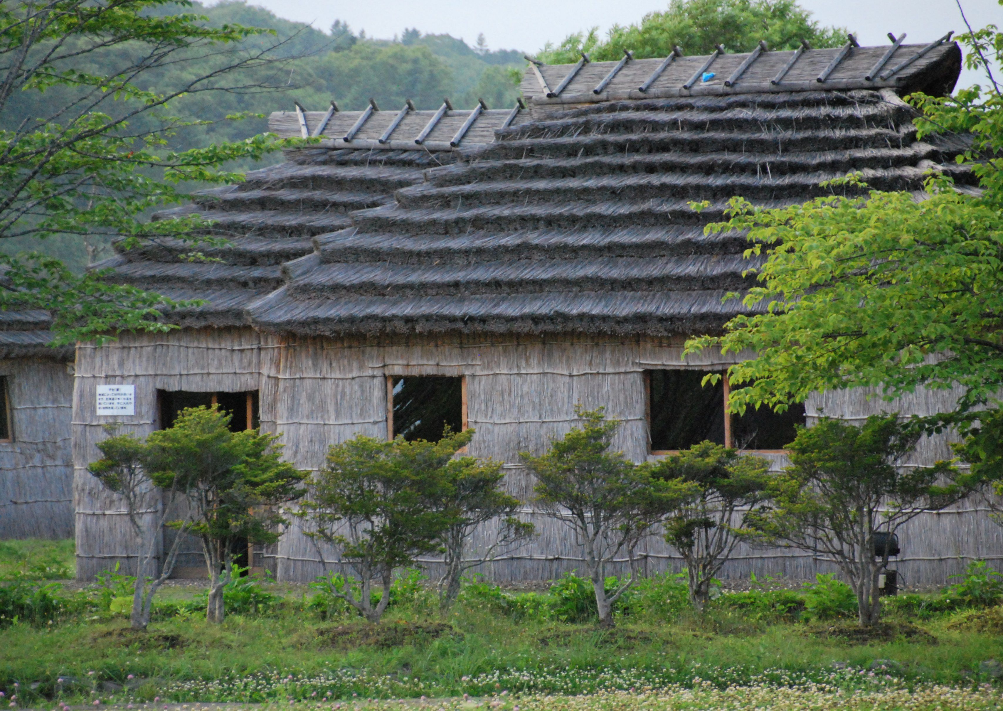 Ainu lodgings%28ainu museum%2c shiraoi%29