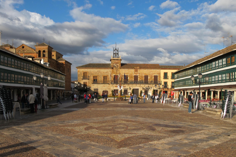 Plaza Mayor de Almagro - Wikipedia, la enciclopedia libre
