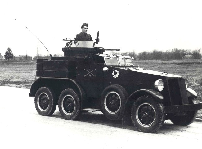 The M1 Armored Car - Credits: Wikimedia Commons.
