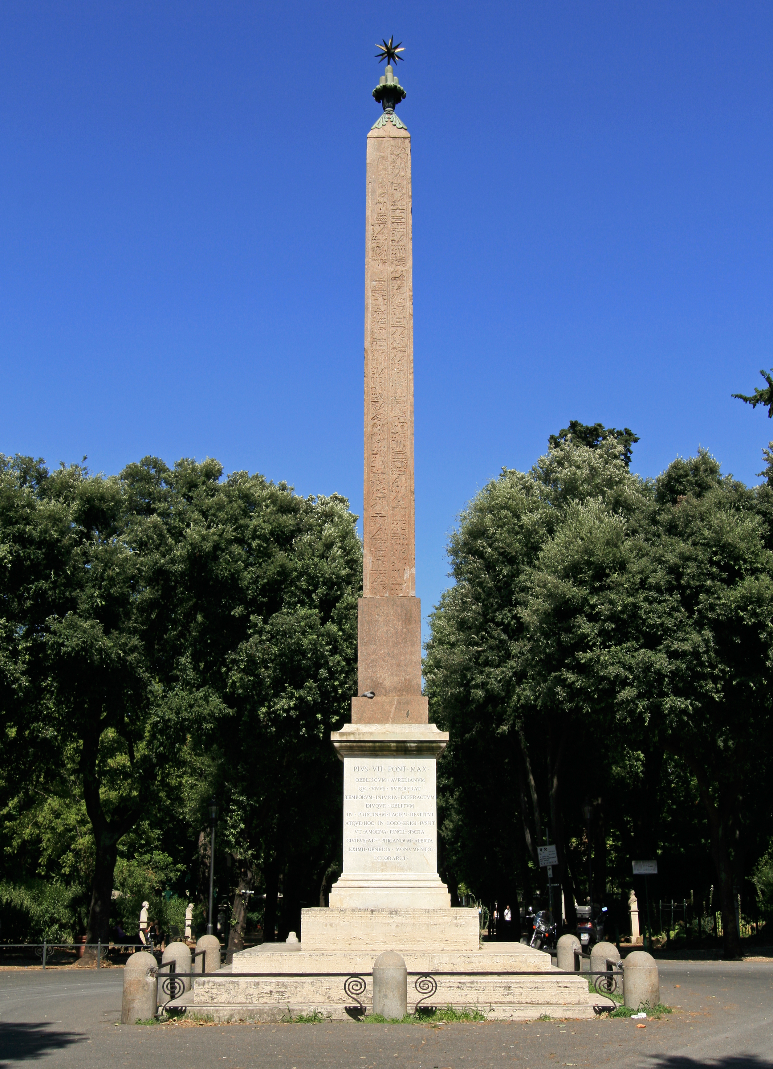 Obelisco Del Pincio Wikipedia