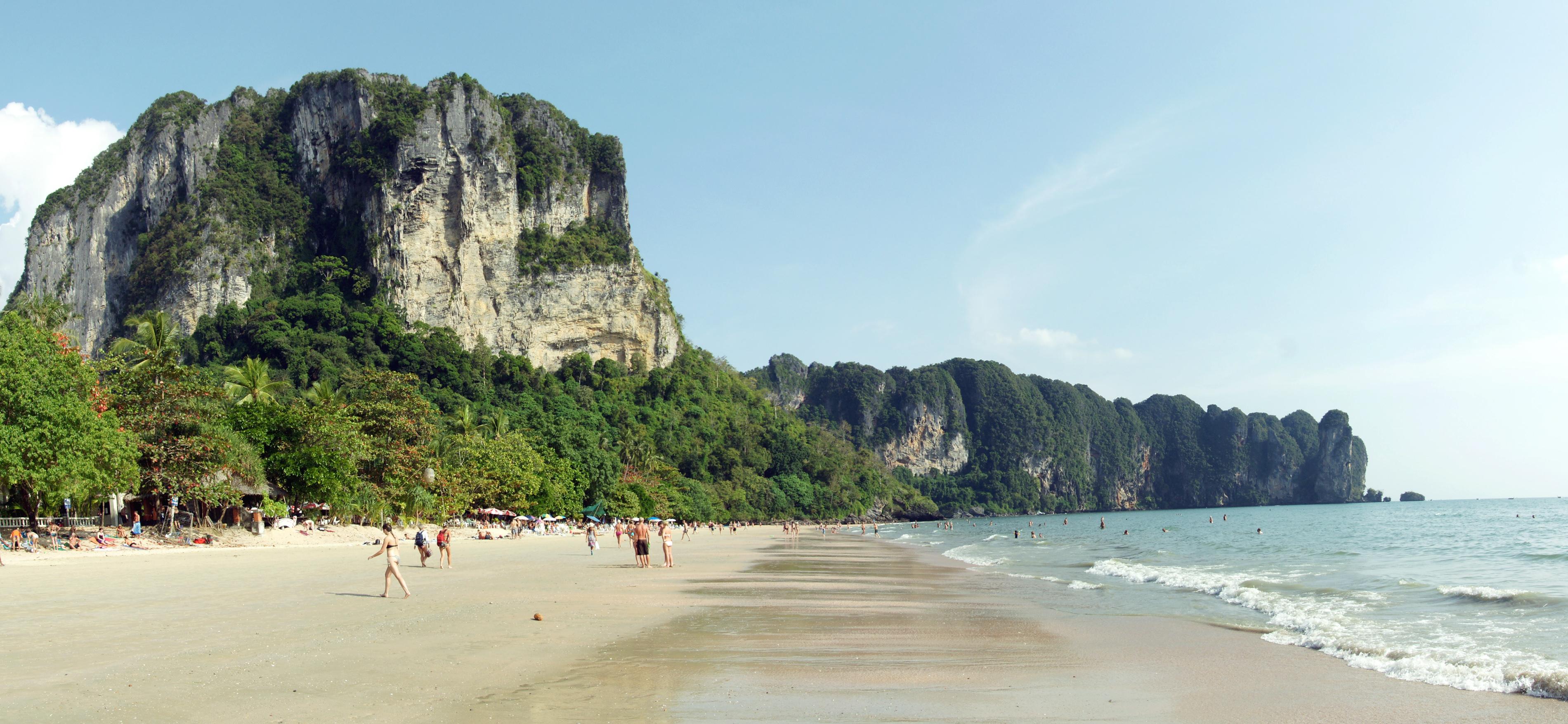Ao Nang beach panorama