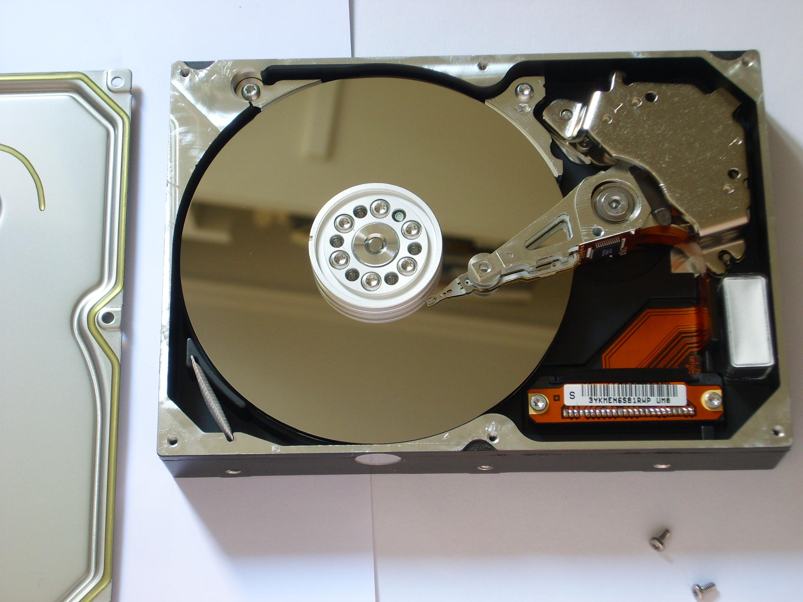 Hard Disk Drive Platter Wikipedia Hardisk Pc 320 Gb