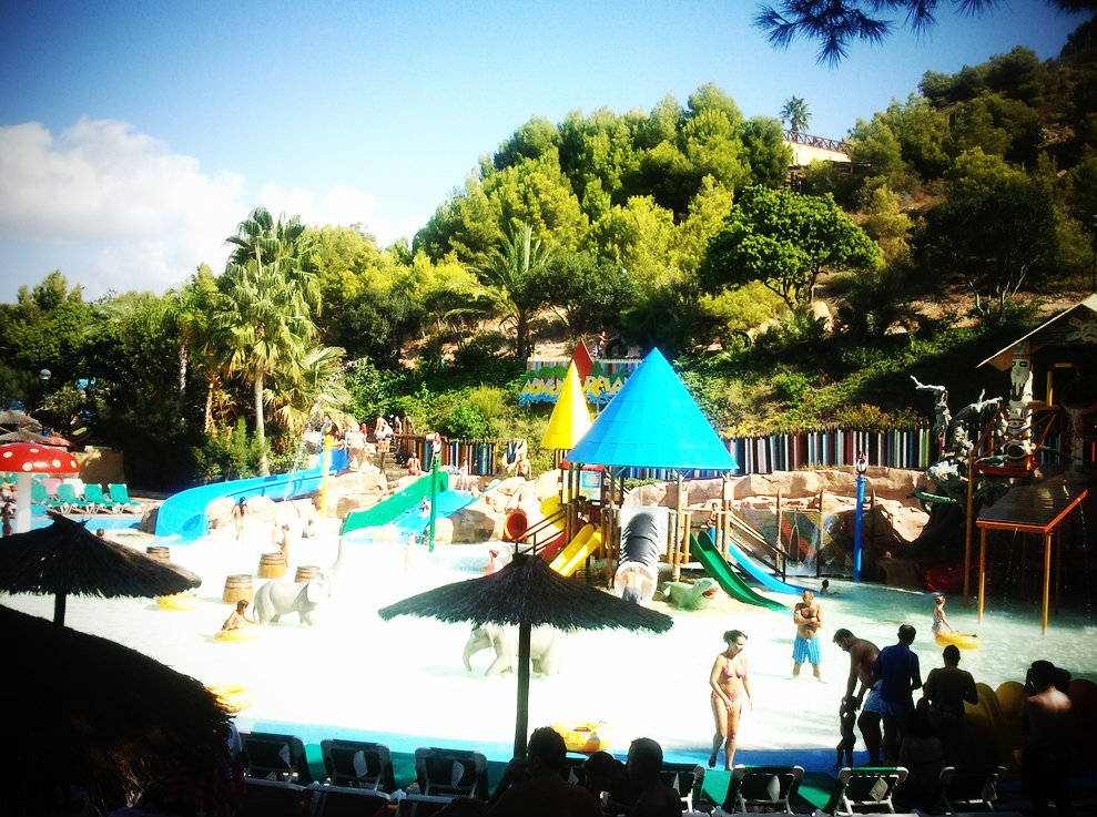 Aqualandia; water parks in Spain