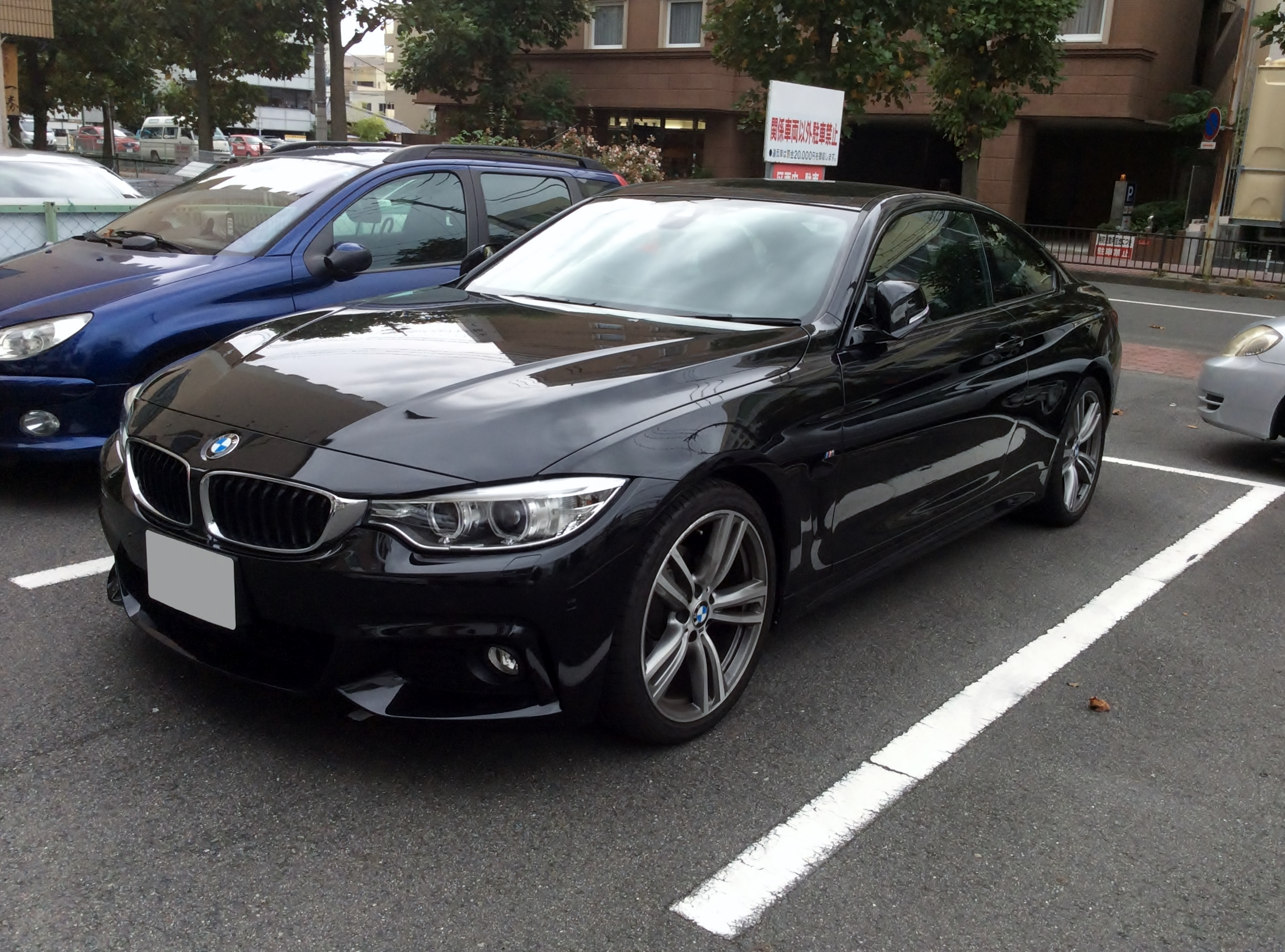 File Bmw 420i Coup 233 M Sport F32 Front Jpg Wikimedia
