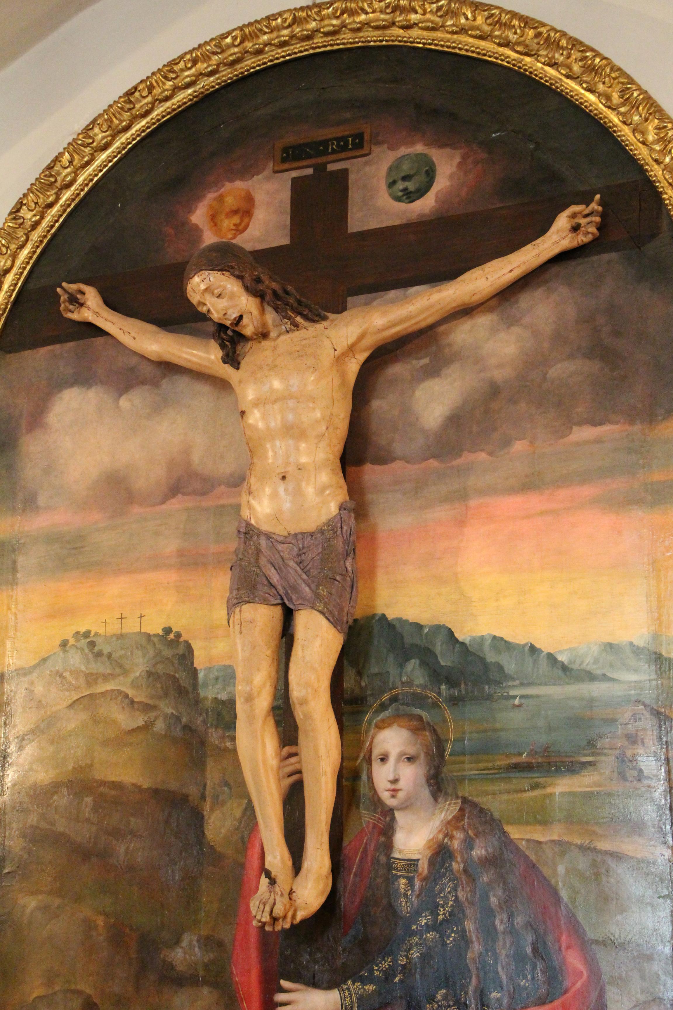 File:Baccio da montelupo, crocifisso (1505-10) e ridolfo del gh