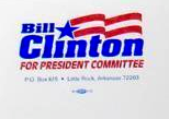 Bill Clinton for President Committee letterhead.png