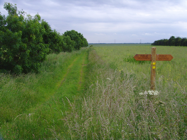 Blacktoft Sands footpaths - geograph.org.uk - 843688