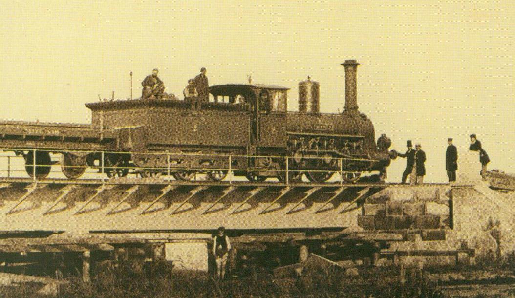 parowóz kolei Warszawsko-Terespolskiej