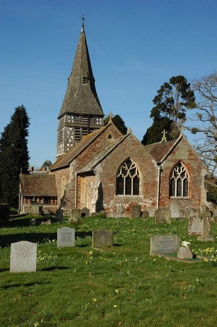 St Mary's church, Bromesberrow