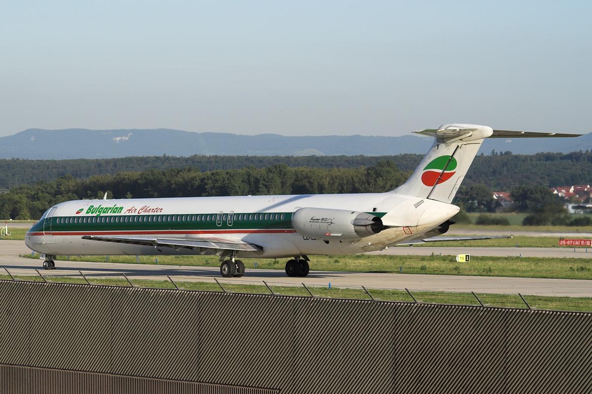Авиакомпания Балгэриан Эйр Чартер (Bulgarian Air Charter).2