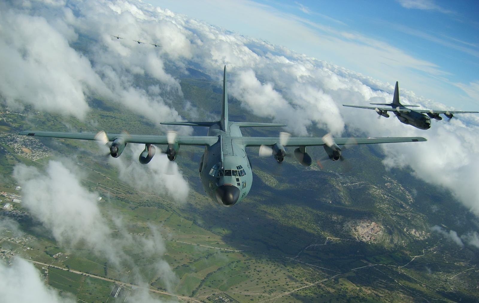 C 130 Hércules Fuerza Aerea Mexicana. C-130MK1_Hercules_FAM