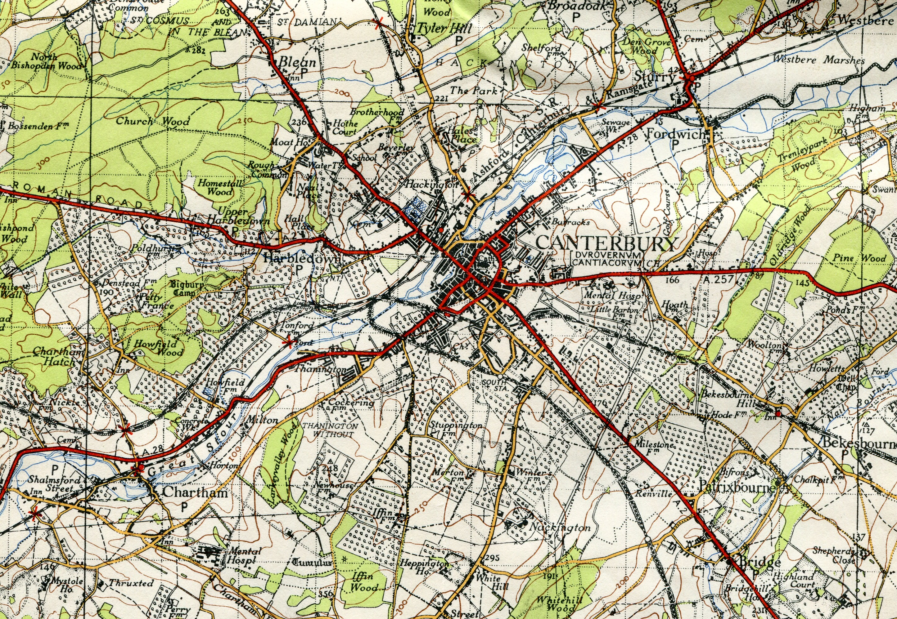 FileCanterbury Orchards 1945 OS Map 171 detailjpg Wikimedia Commons