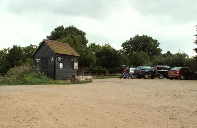 Car Park at Hatfield Forest, Essex - geograph.org.uk - 231746