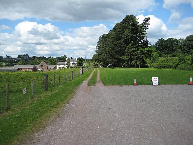 Car park at Puzzle Wood - geograph.org.uk - 841854