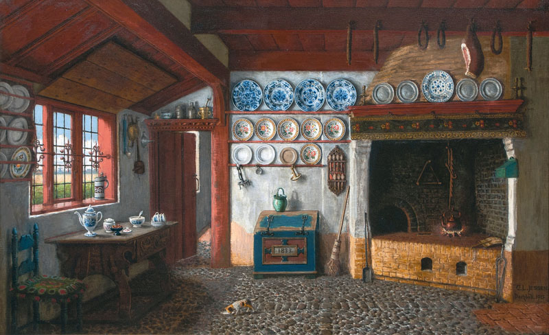 File carl ludwig jessen interieur eines friesenhauses 1915 for Carl stuer interieur
