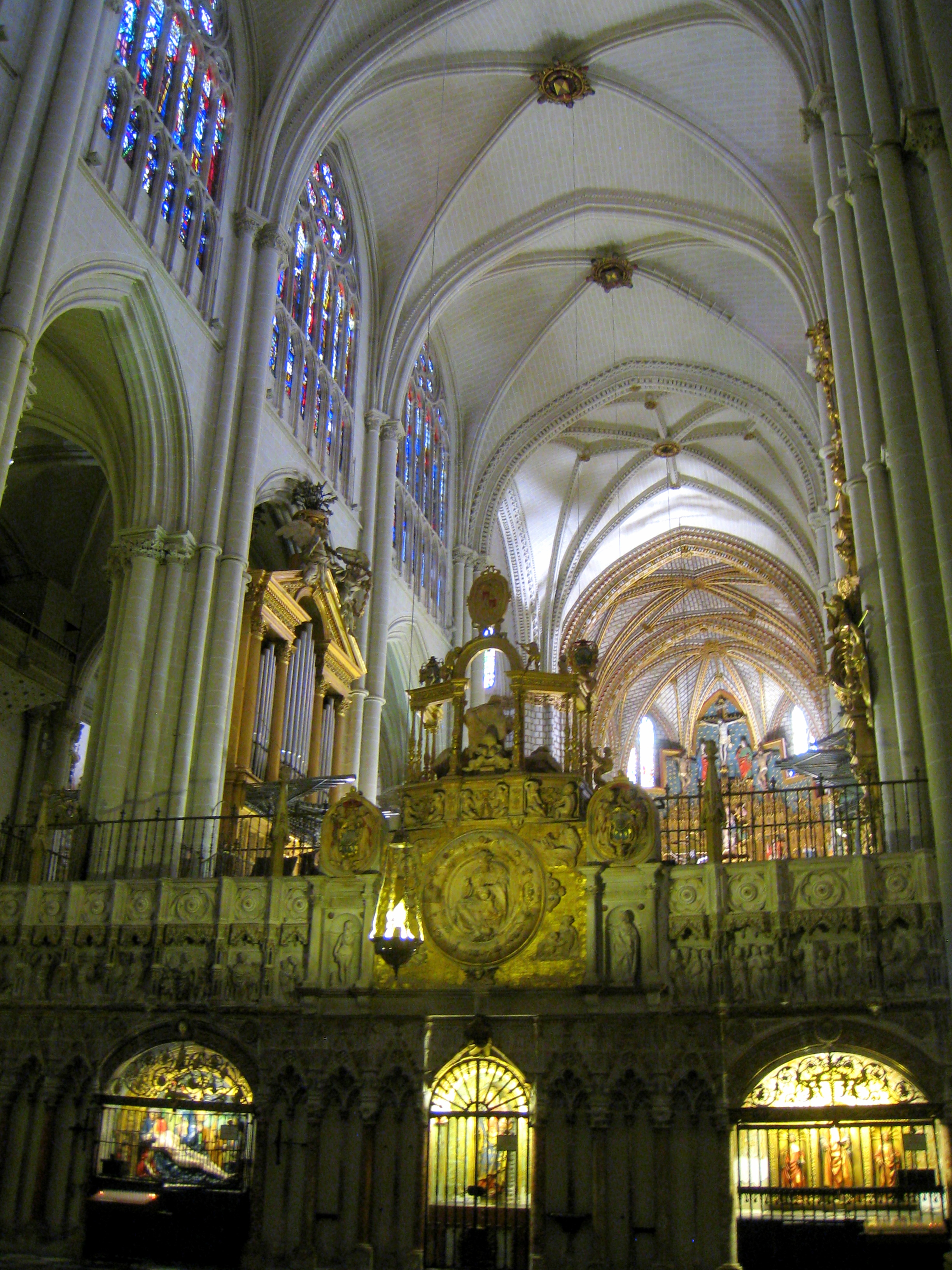 File Cathedral Of Toledo Spain Interior 1 Jpg