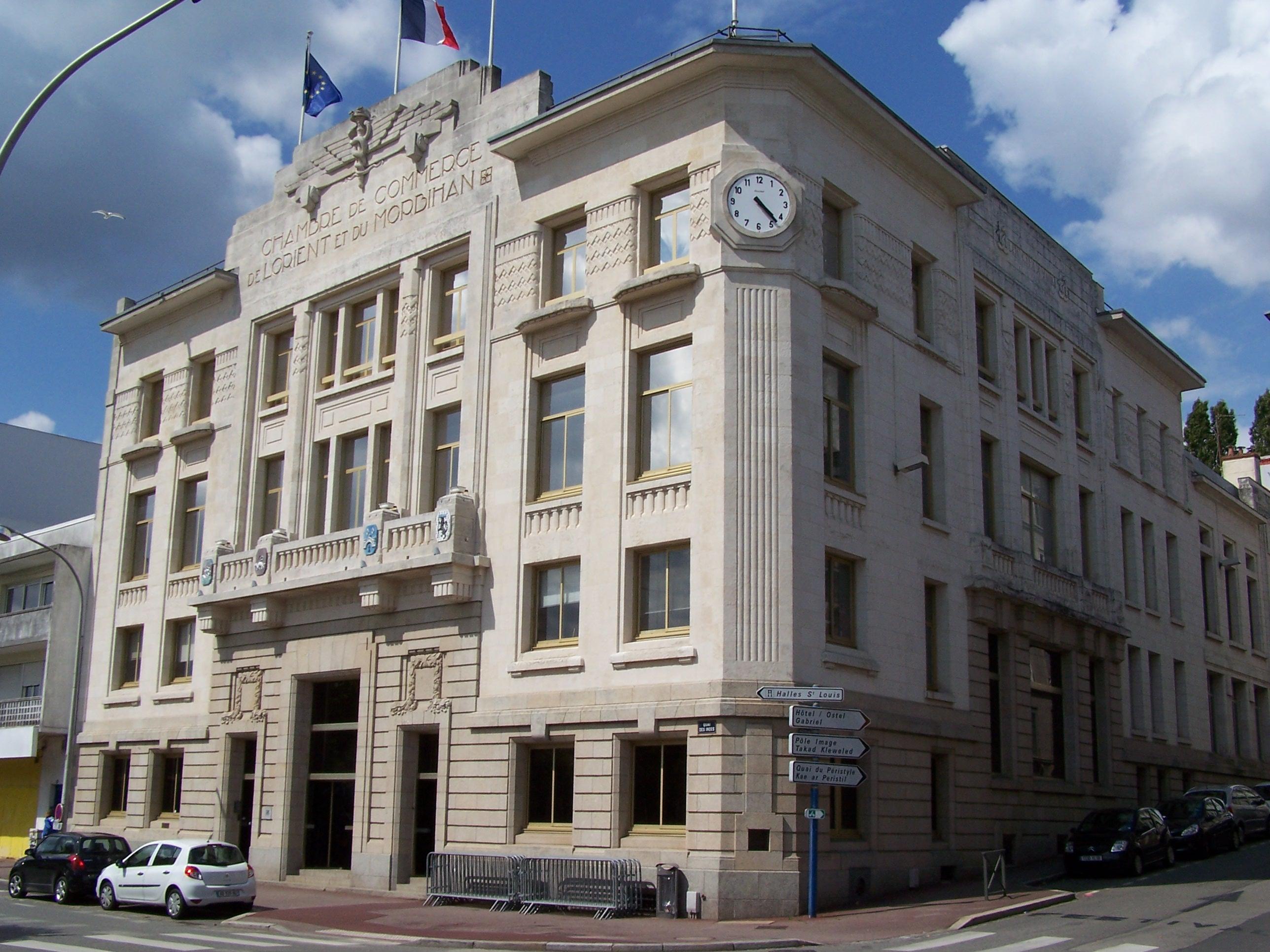 File chambre de commerce de lorient et du morbihan jpg wikimedia commons - Chambre de commerce morbihan ...