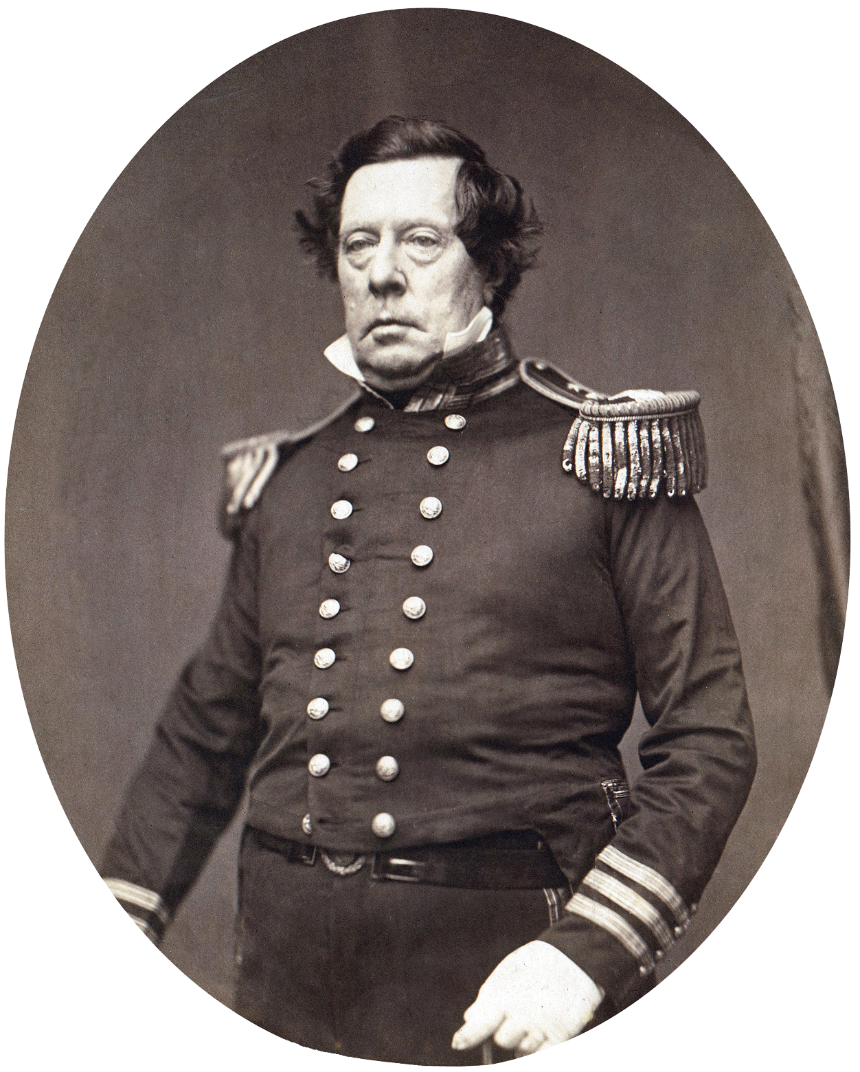 Depiction of Matthew C. Perry
