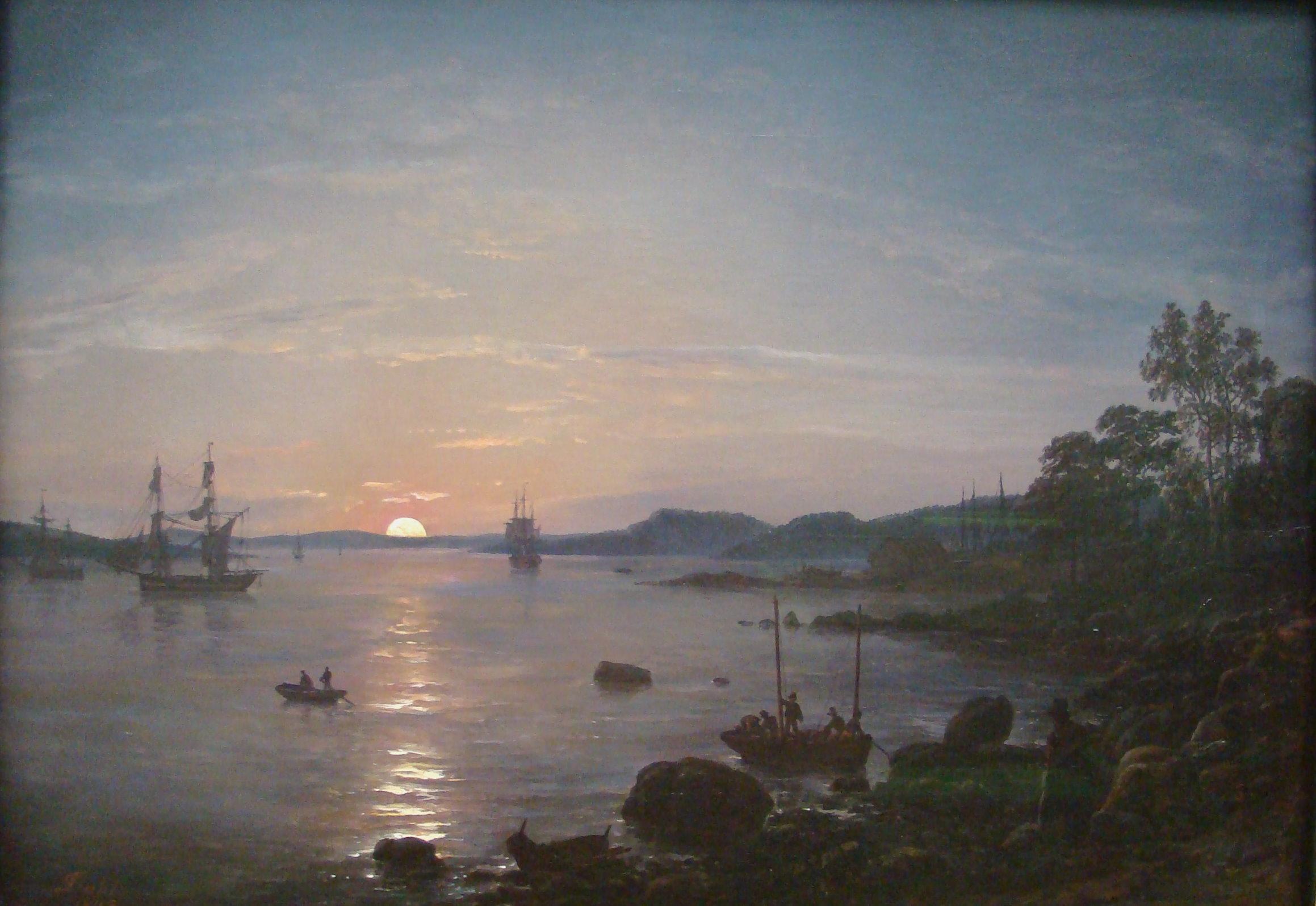 Landschaftsmalerei romantik friedrich  Johan Christian Clausen Dahl – Wikipedia
