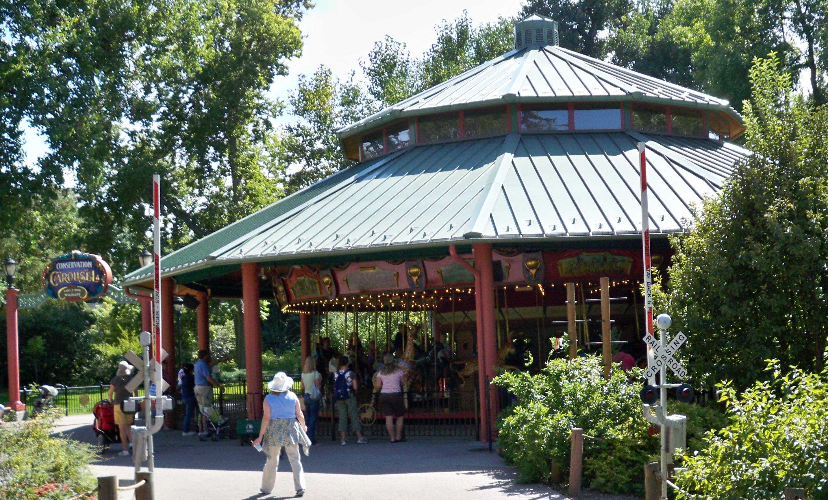 National carousel association denver zoo carousel african wild dog - Endangered Species Carousel