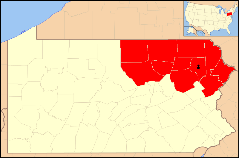FileDiocese of Scranton map 1png Wikimedia Commons
