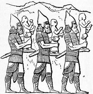 EB1911 Costume Fig. 12. Assyrian Warriors.jpg