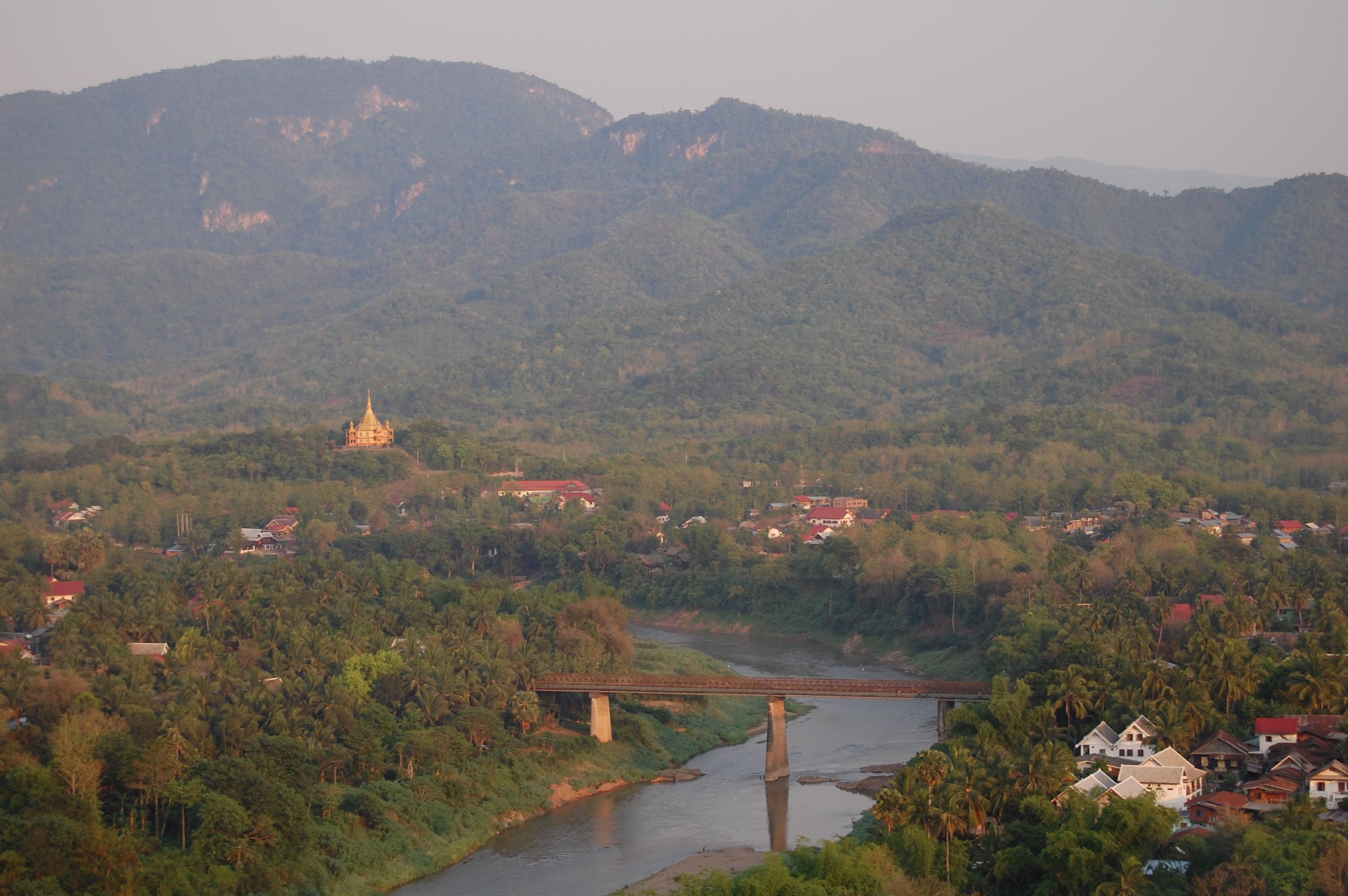 Mount Phousi, laos, luang prabang
