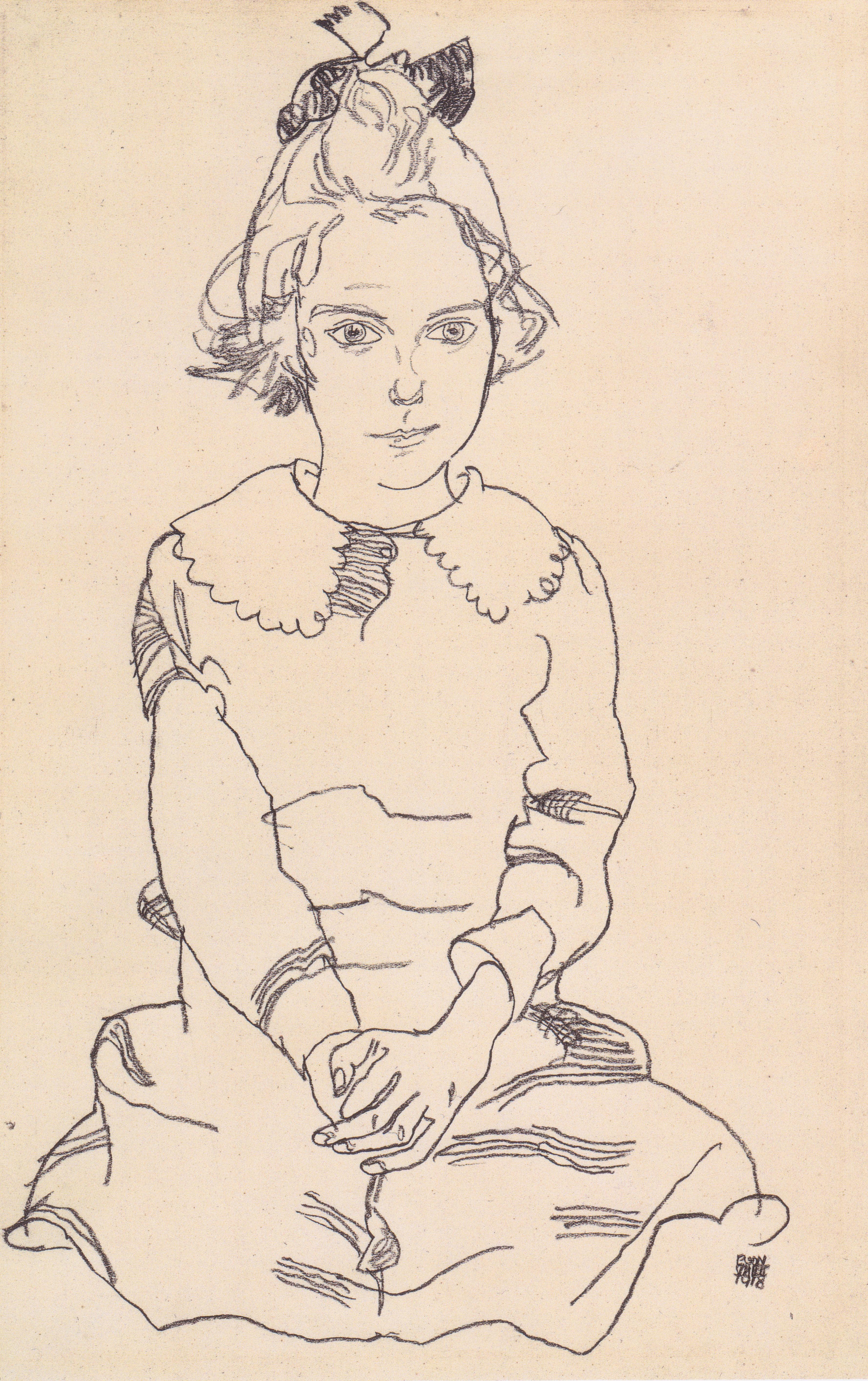 Bildnis der Mutter Schieles Egon Schiele 1918