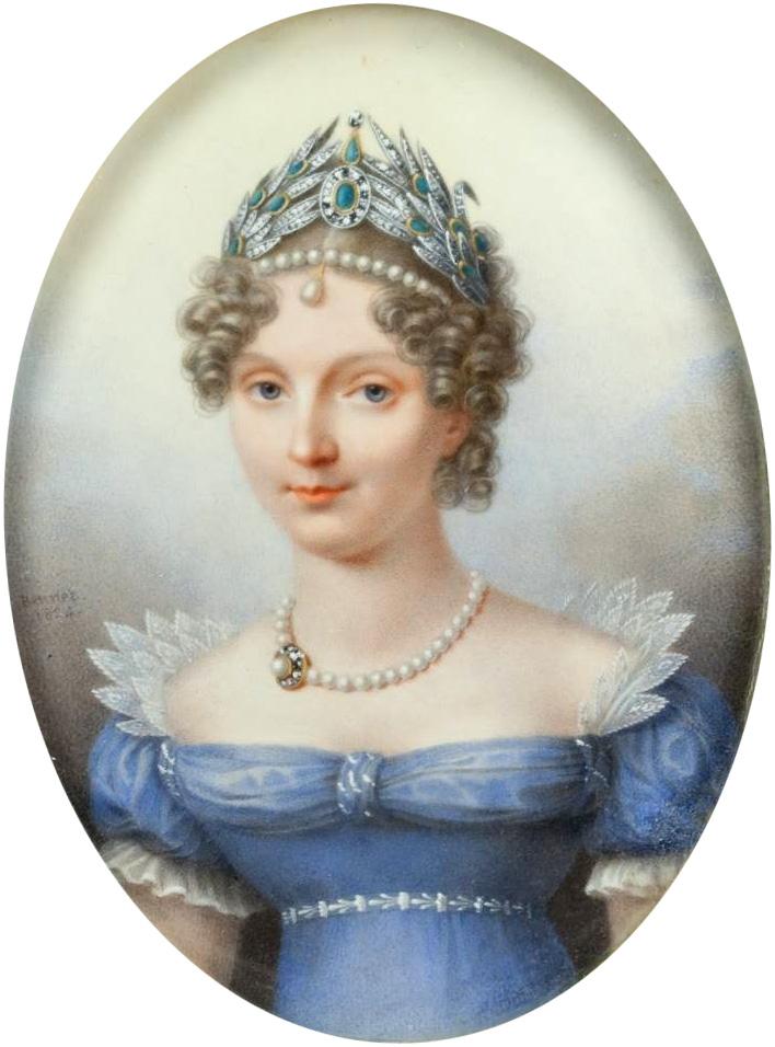 Елизавета Алексеевна - Дж.  Х.  Беннер (1824, ГИМ) .jpg