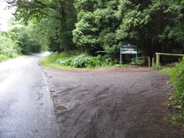Entrance To Ribbesford Woods - geograph.org.uk - 1400762
