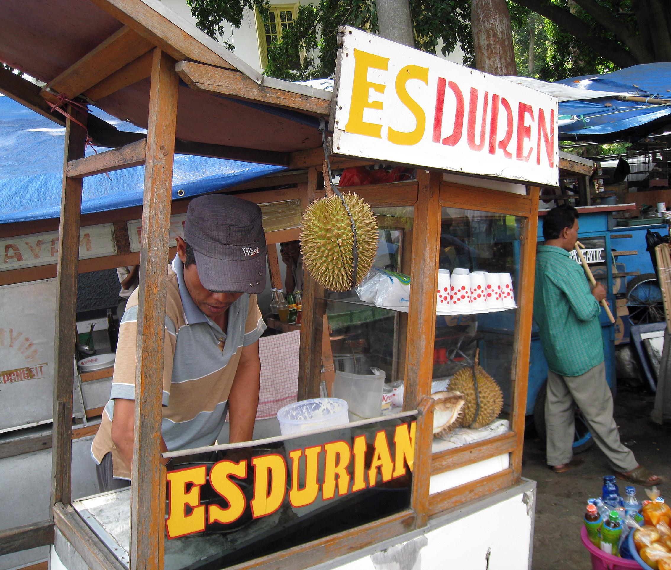 Street Food Of Indonesia Wikipedia Liquid Lokal Es Puter Durian