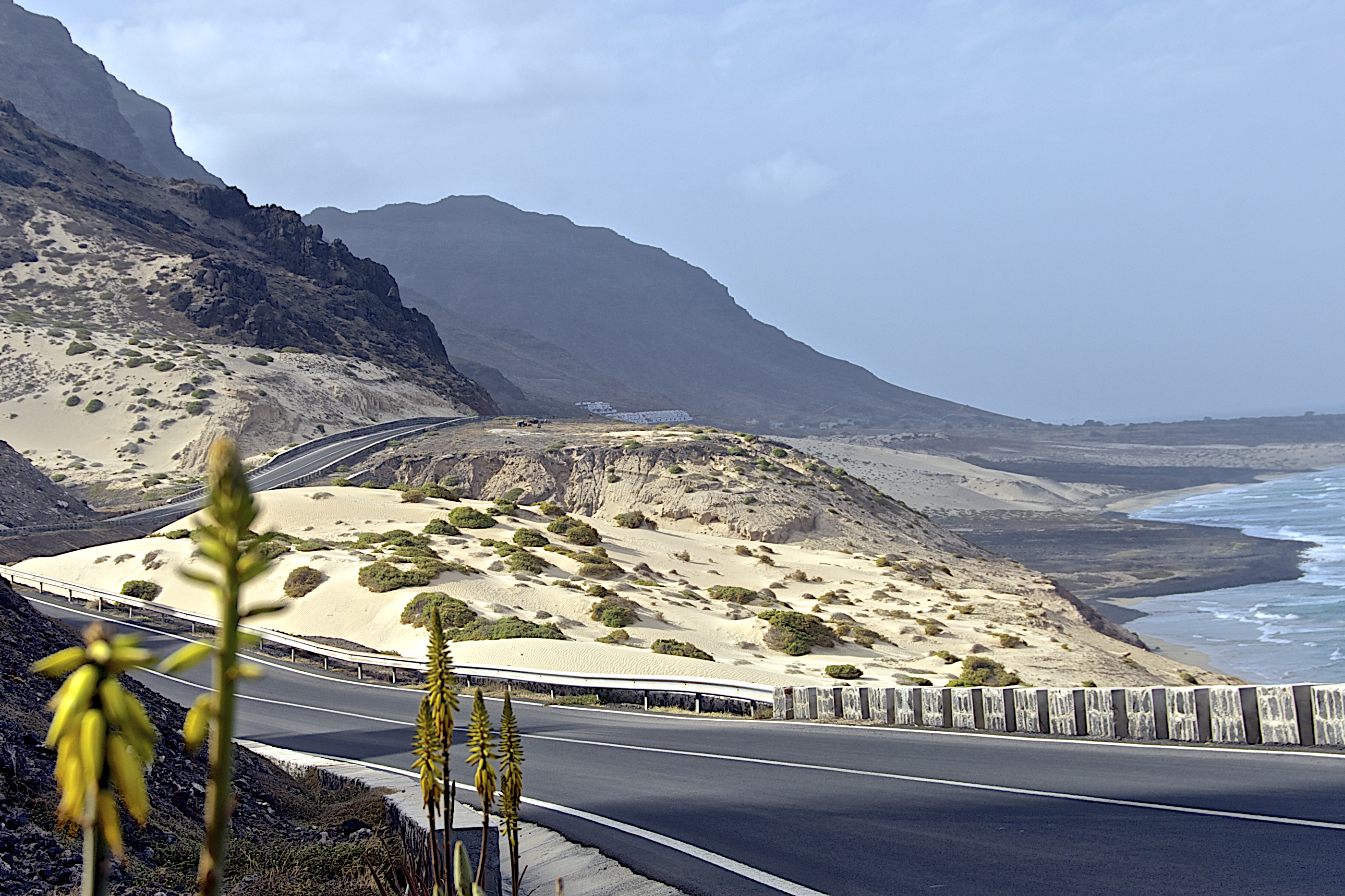 Geography Of Cape Verde The Countryside In Estrada Baía Das Gatas