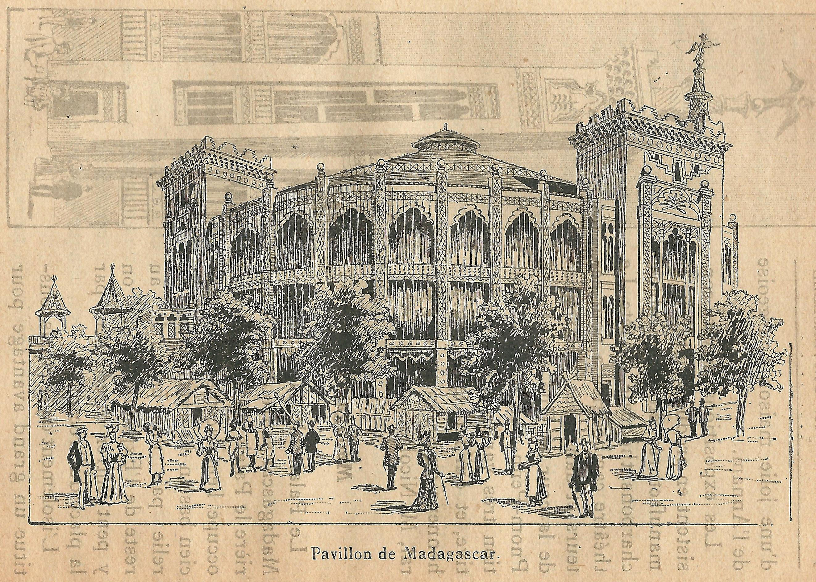 File:Expo 1900-pavillon de Madagascar-1 jpg - Wikimedia Commons