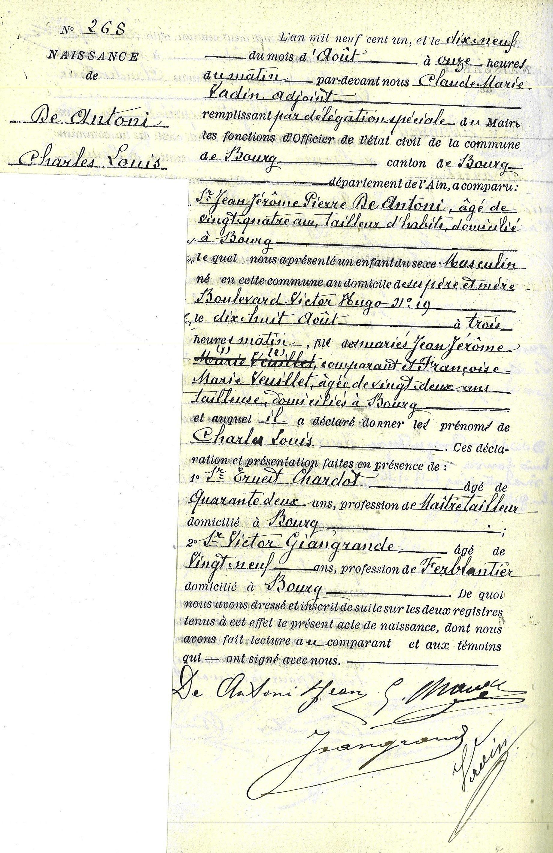 veronique de villele date de naissance charles de antoni horoscope for birth date 18 august 1901
