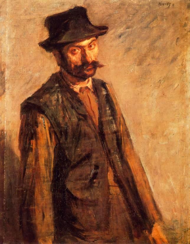 Fényes Adolf - Napszámos (1900 körül)