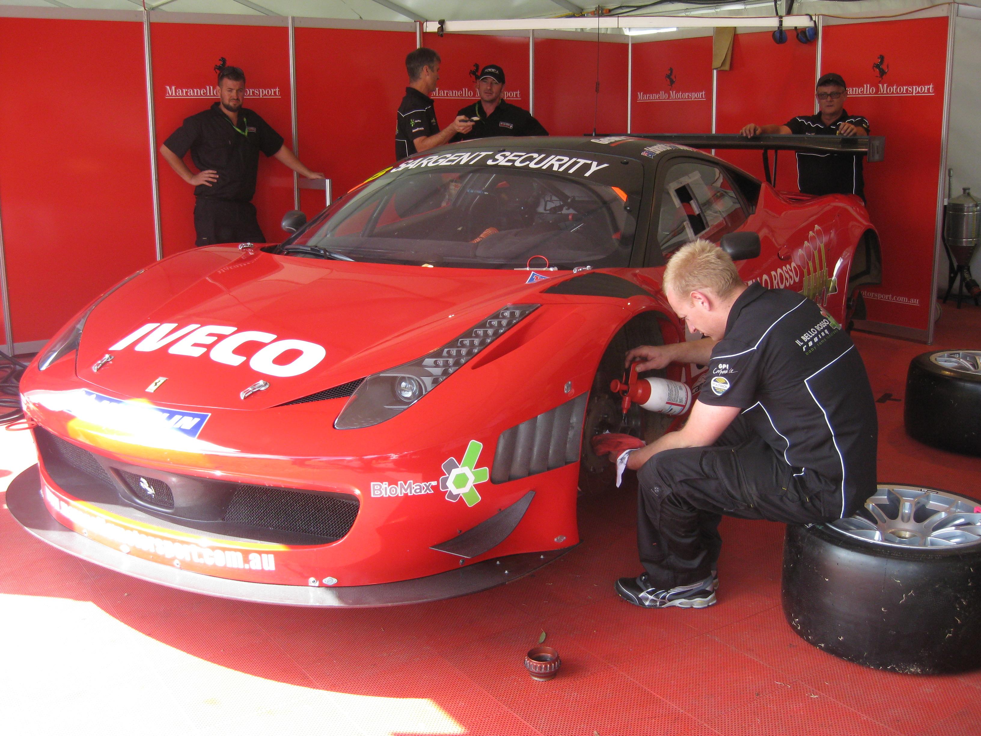 File Ferrari 458 Italia Gt3 Of Maranello Motorsport Jpg Wikimedia Commons