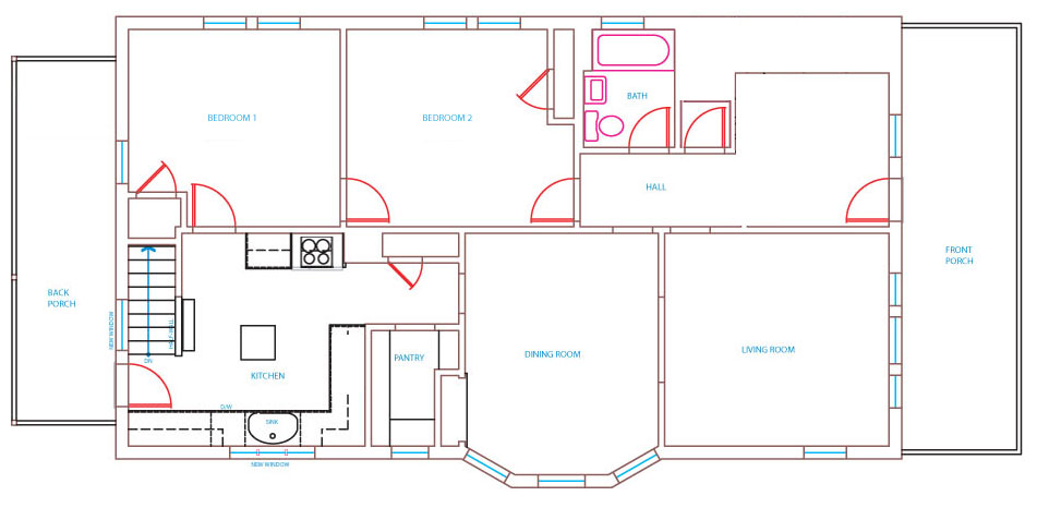 Story House Plan With Basement And  Rooms