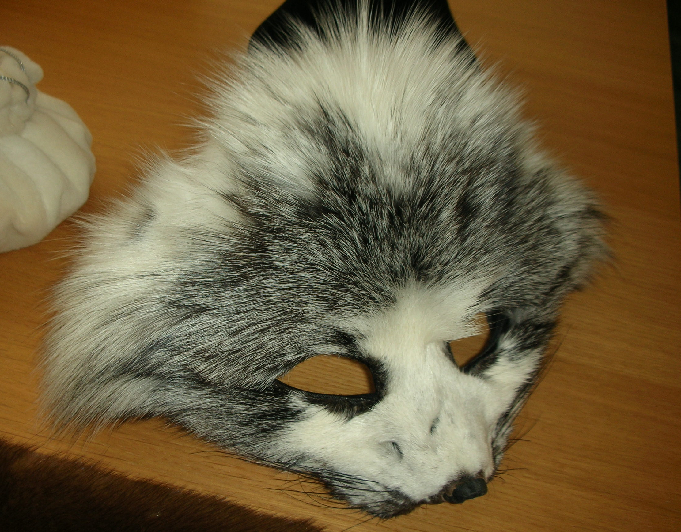 Printable Fox Mask File:fox mask at copenhagen