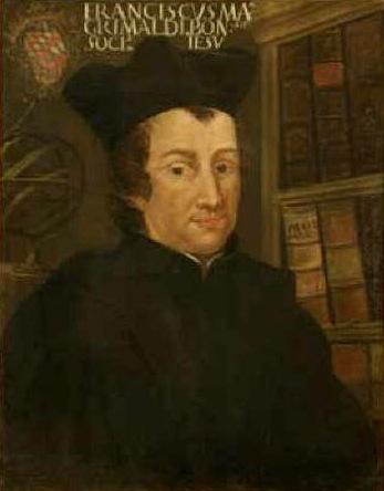 Profesor Francesco Maria Grimaldi