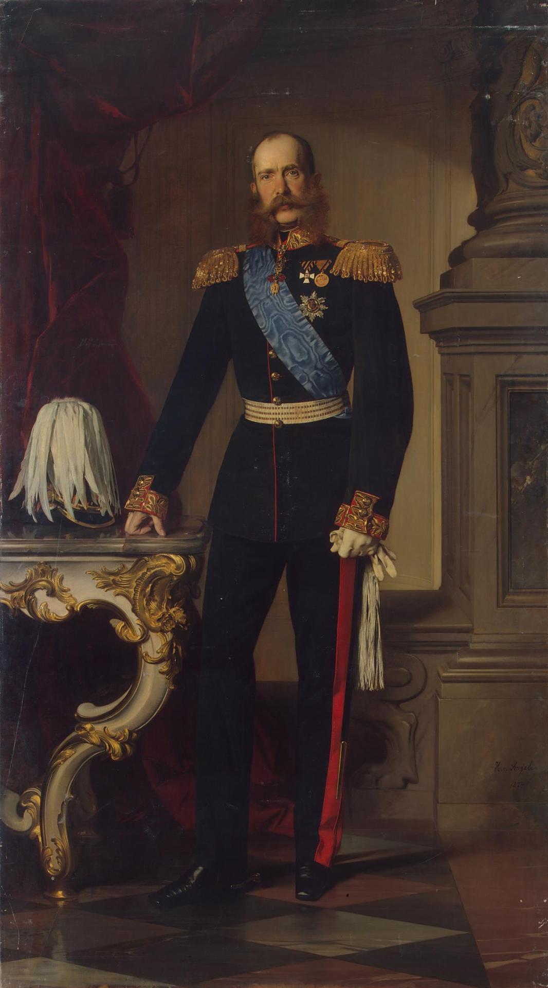 Franz Joseph I Of Austria Heinrich Von Angeli C