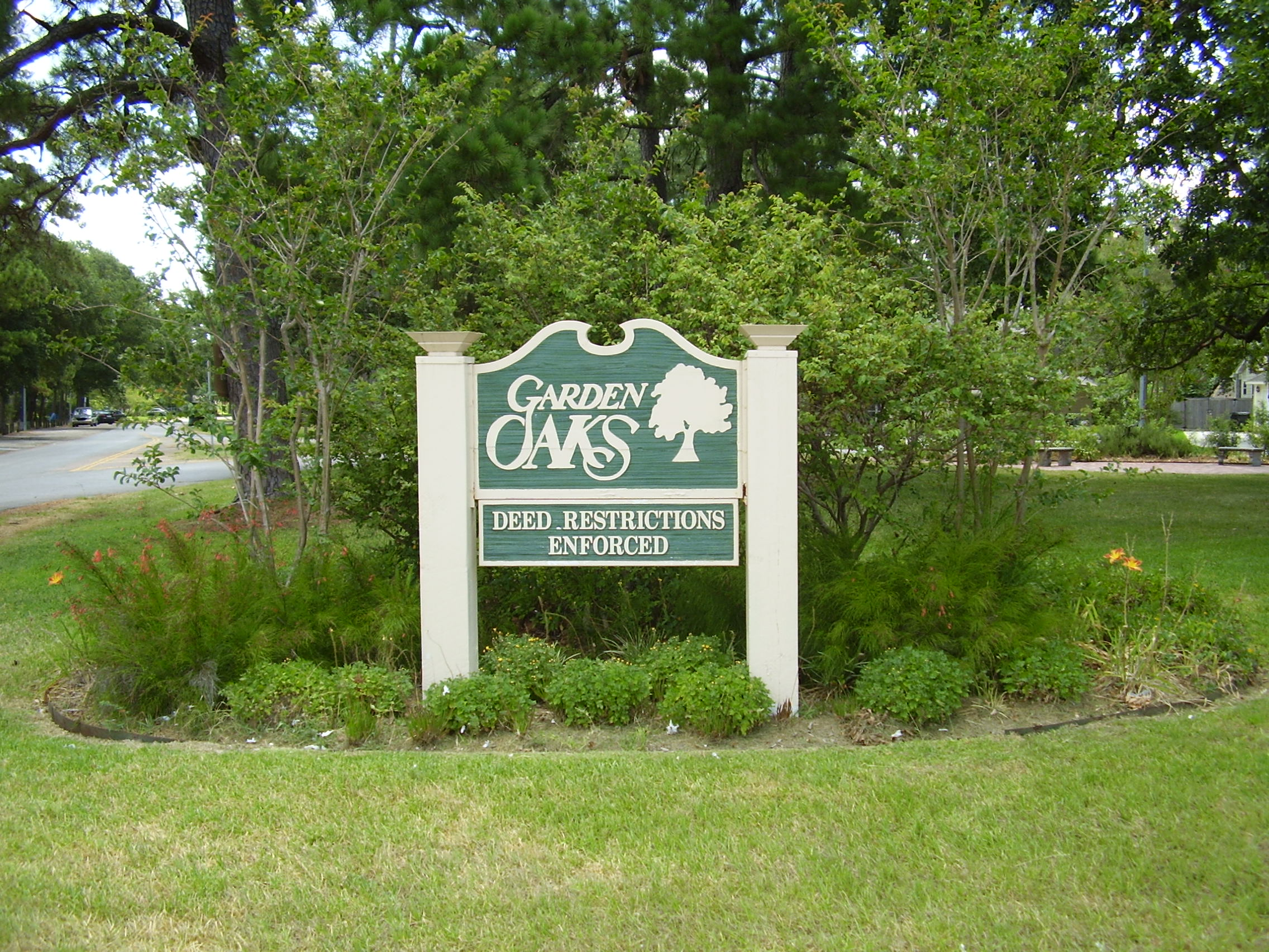 Garden Oaks Houston Wikipedia