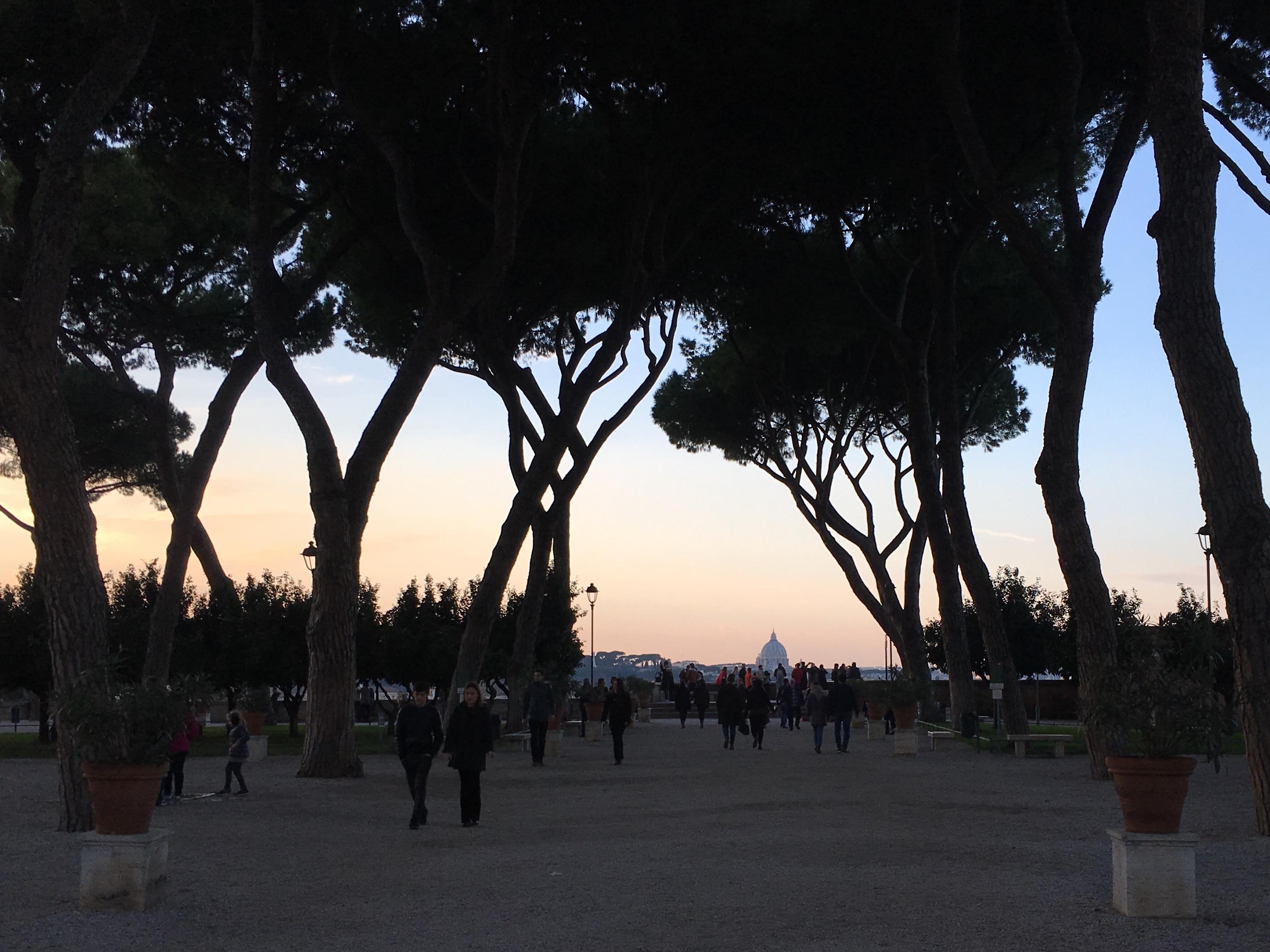 Orange Garden in Rome, Italy