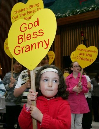 God bless granny Catholic Grandparents Pilgrimage