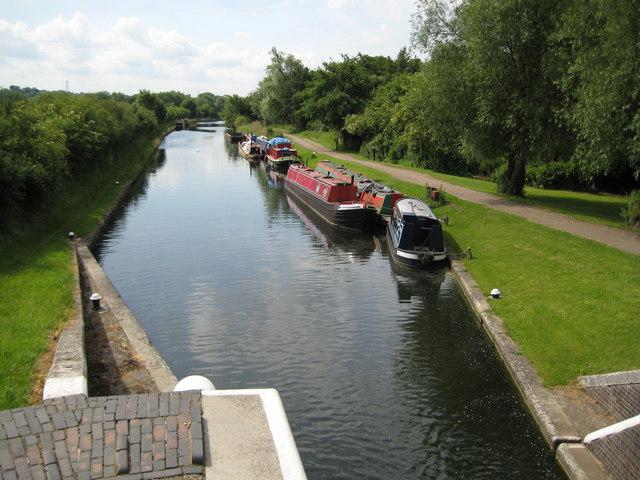 Grand Union Canal at Denham Lock - geograph.org.uk - 856503