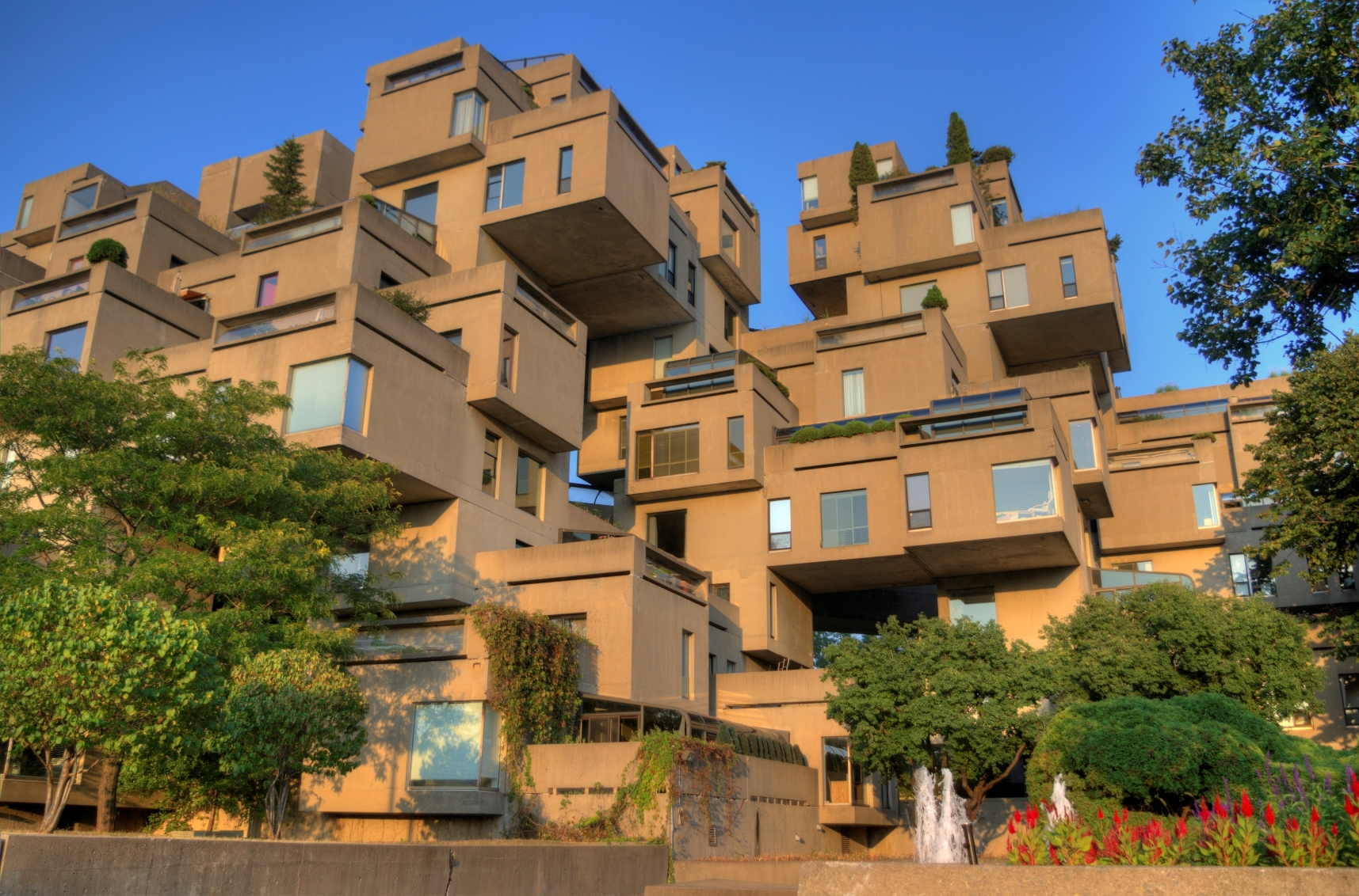 File habitat wikimedia commons for Habitat 67 architecture