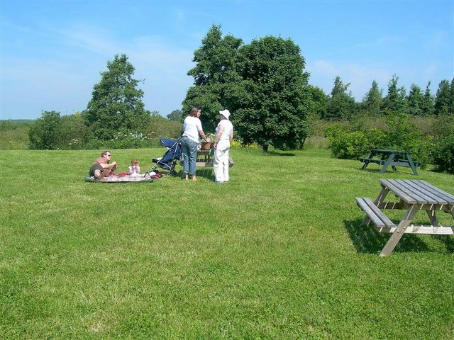 Having A Picnic - geograph.org.uk - 840694