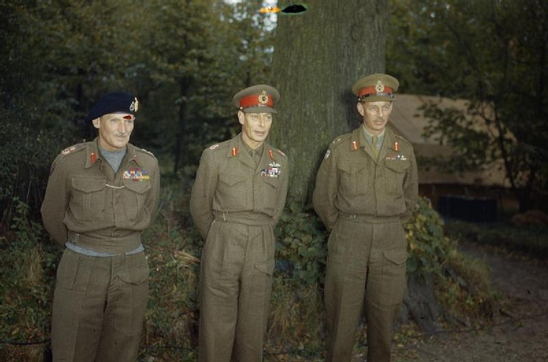 Holland Holland Wikipedia >> File:Hm King George Vi With the British Liberation Army in ...
