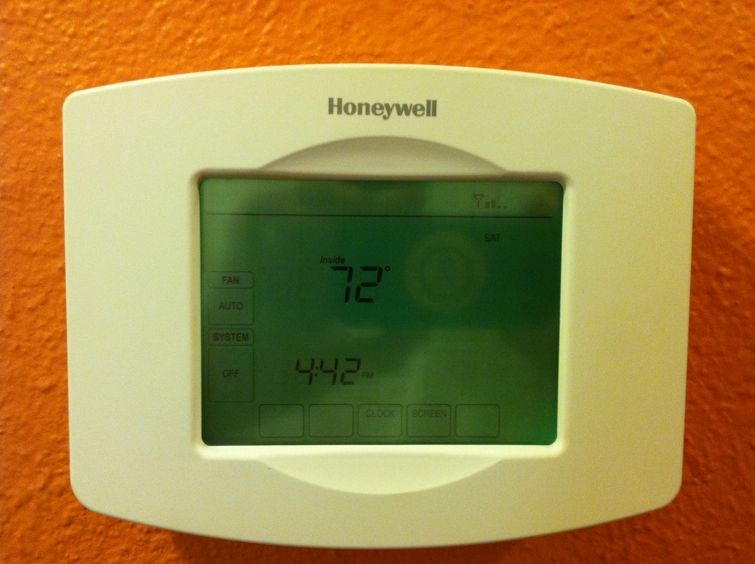 The age-old thermostat dilemma - keep the fan