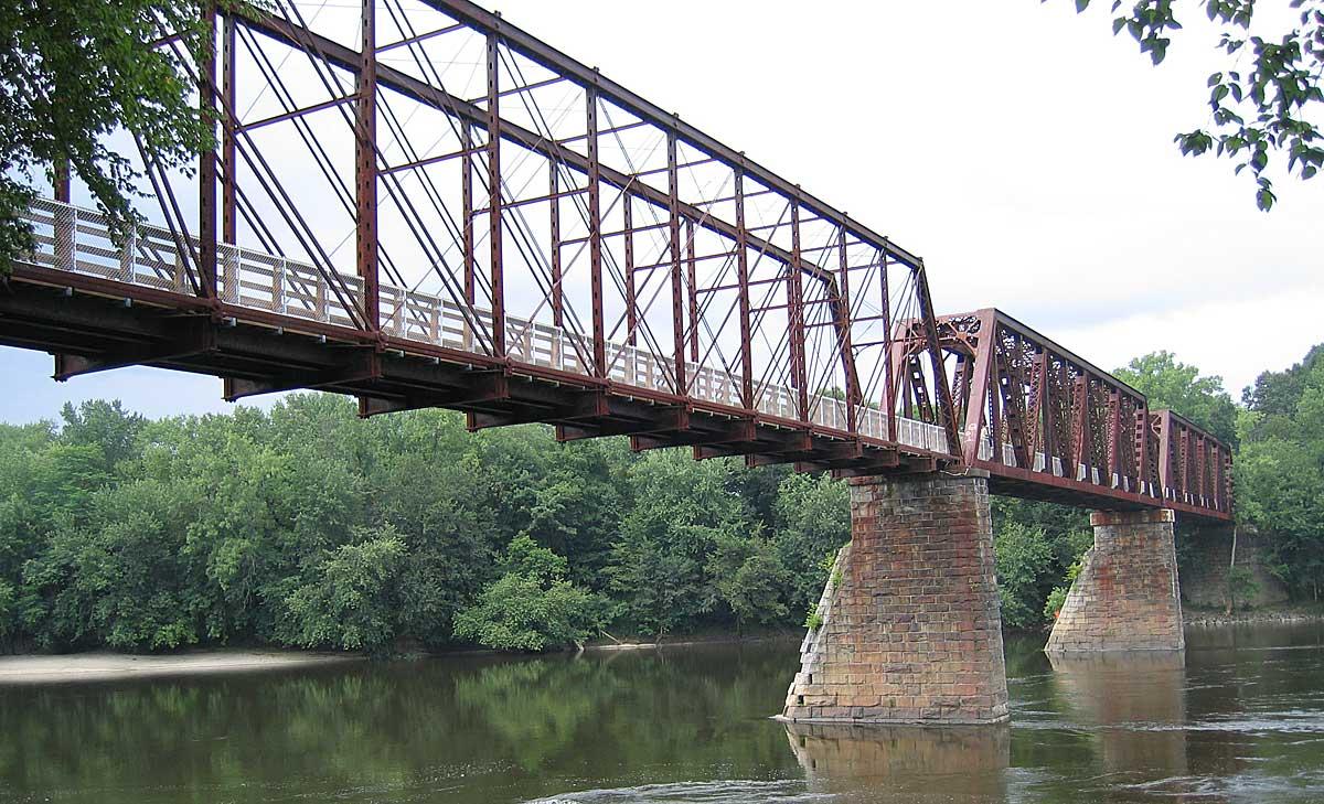 Canalside Rail Trail Bridge Wikipedia